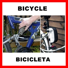 Bycicle repair tools and maintenance equipment.
