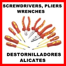 Screw Drivers, Pliers and Wrenches in sets and individual.