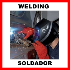 Welding supplies and equipment.